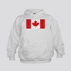 Canada National Flag Kids Hoodie